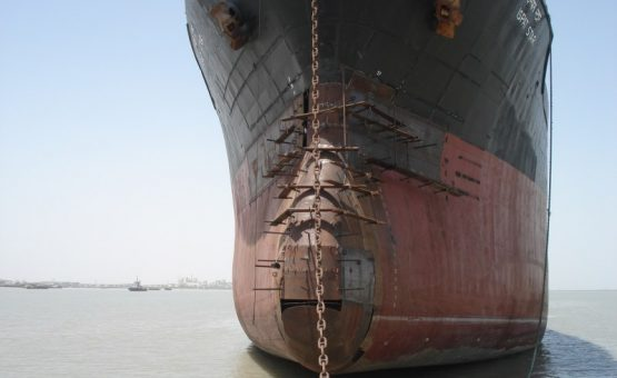 Bulbus bow repair