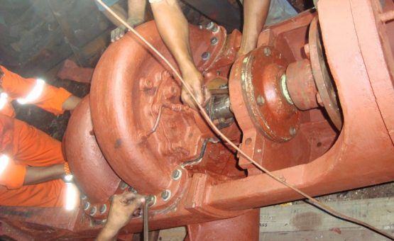 overhauling motors and pumps