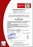 Safety ISO CERTIFICATE