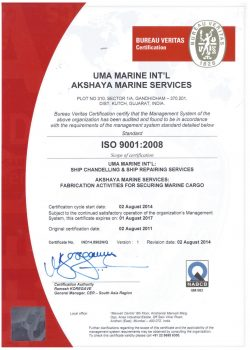 Supply ISO CERTIFICATE